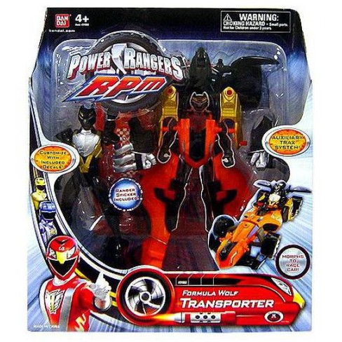 Power Rangers RPM Auxilliary Trax Formula Wolf Transporter Action Figure - image 1 of 1