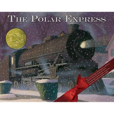 Polar Express (Anniversary) - by Chris Van Allsburg (Hardcover)