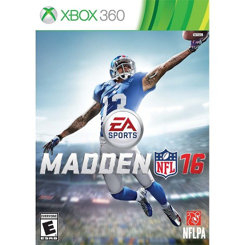 Madden NFL 16 PRE-OWNED Xbox 360 - image 1 of 1