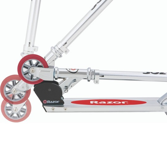 Razor A Scooter - Red, kick scooters image number null