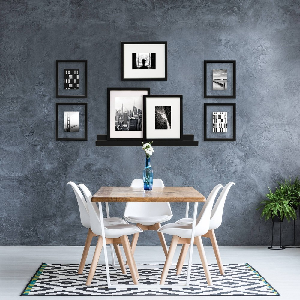"""Image of """"7pc 8""""""""x10"""""""" Mixed Set Black - Made By Design"""""""
