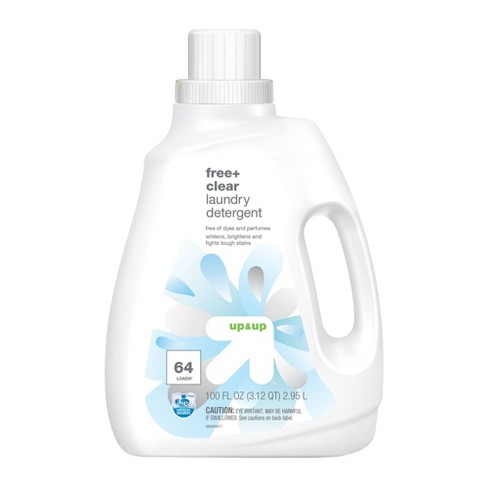 Free Clear HE Liquid Laundry Detergent - 100oz - Up&Up™ - image 1 of 2