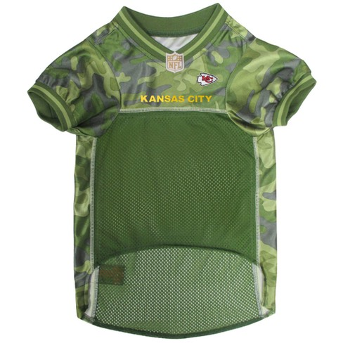 NFL Pets First Camo Pet Football Jersey - Kansas City Chiefs   Target 622dbba44