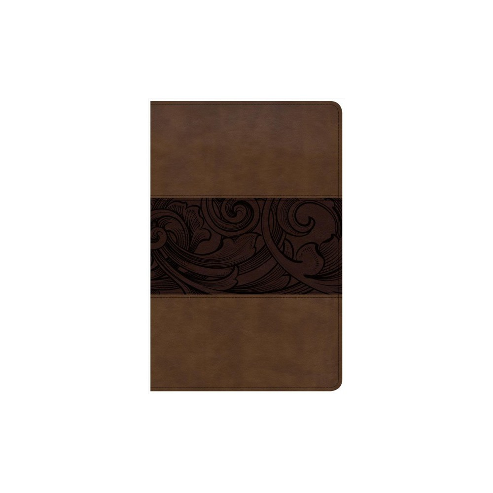 Csb Study Bible : Cristian Study Bible, Mahogany, Leathertouch, Personal Size Edition - (Paperback)