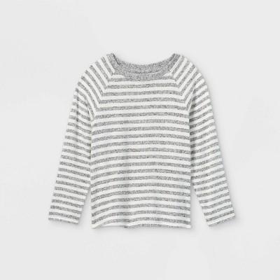 Toddler Girls' Striped Cozy Long Sleeve T-Shirt - Cat & Jack™