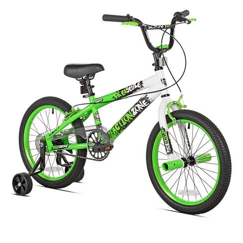 "Kids Kent Action Zone Bike - Green (18"") - image 1 of 1"