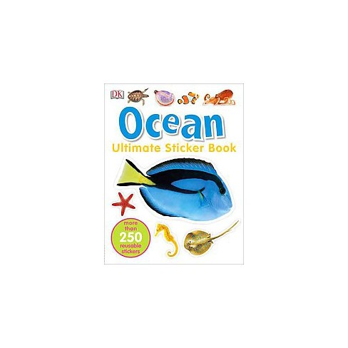 Ultimate Sticker Book: Ocean - (DK Ultimate Sticker Books) (Paperback) - image 1 of 1