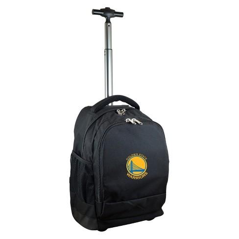 cfc65224692 NBA® Golden State Warriors Mojo Premium Wheeled Backpack - Black ...