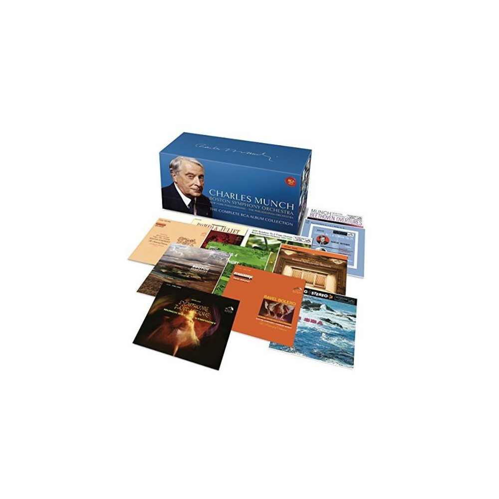 Charles Munch - Complete Album Collection (CD)