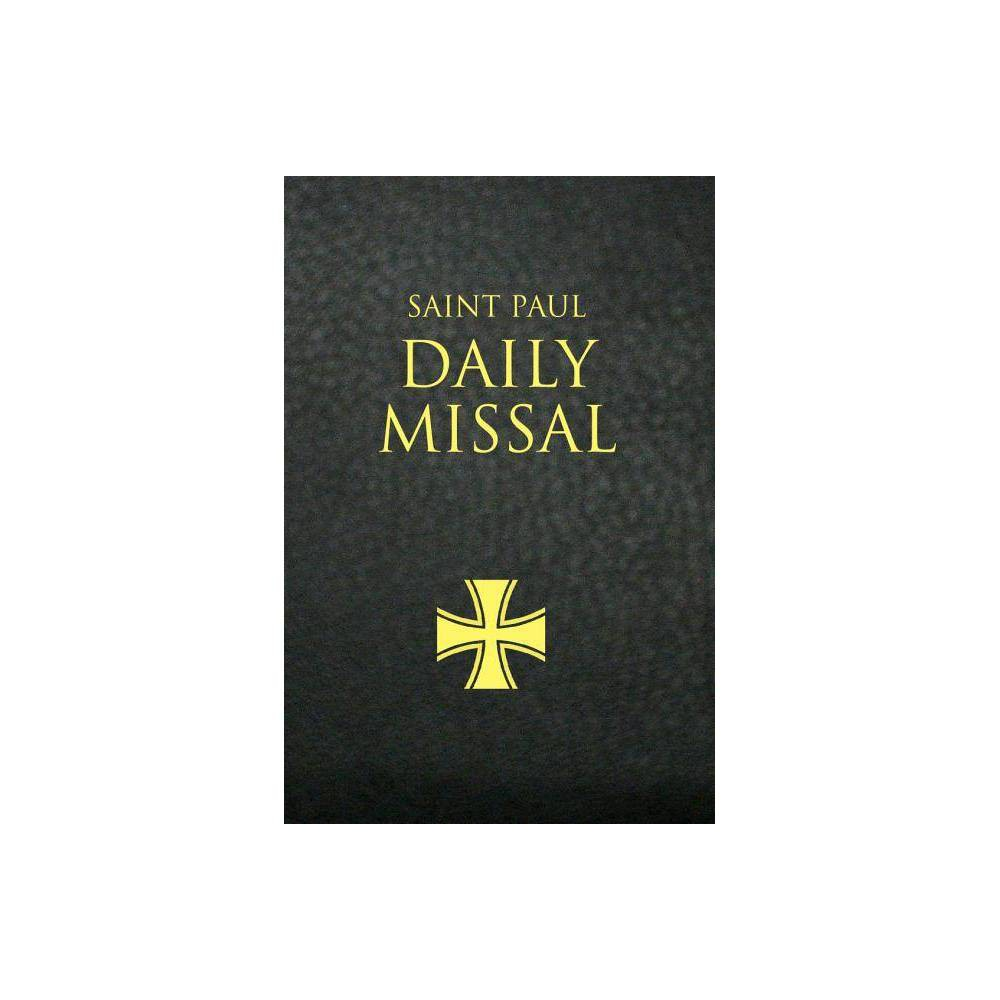 Saint Paul Daily Missal Black By Daughters Of St Paul Leather Bound