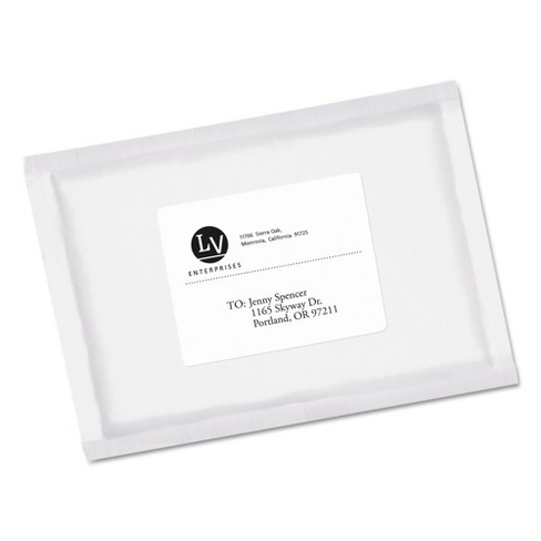 avery ecofriendly labels 3 1 3 x 4 white 600 pack target