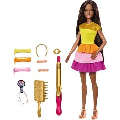 Barbie Ultimate Curls Nikki Doll and Playset