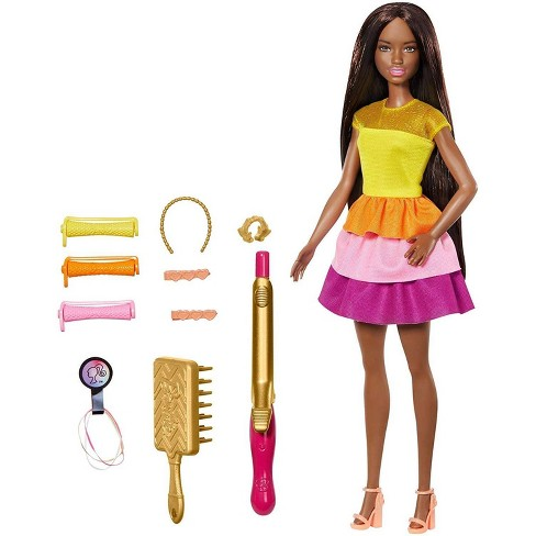 Barbie Ultimate Curls Nikki Doll and Playset - image 1 of 4