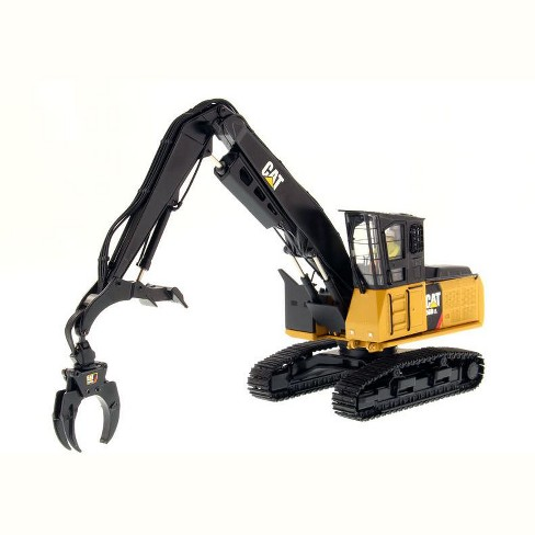 """CAT Caterpillar 568 LL Log Loader with Operator """"High Line Series"""" 1/50 Diecast Model by Diecast Masters - image 1 of 3"""