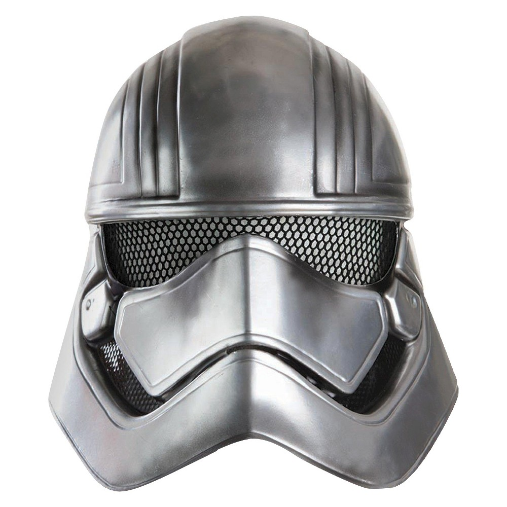 Star Wars: Captain Phasma Adult Half Helmet One Size, Women's, Gray