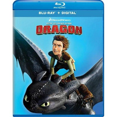 How To Train Your Dragon (New Artwork) (Blu-ray + Digital)
