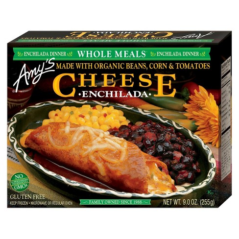 Amy's Cheese Frozen Enchilada Meal - 9oz - image 1 of 3