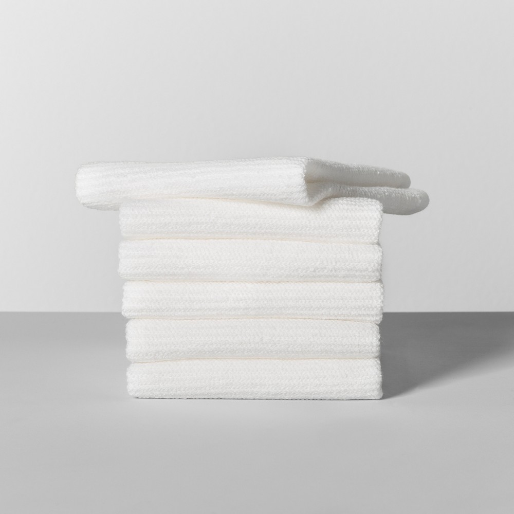 Image of 6pk Terry Dish Cloth White - Made By Design