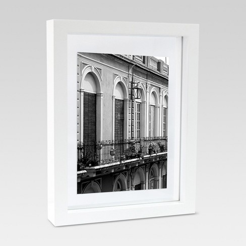 Single Image Frame With Matte 6 X8 White Project 62