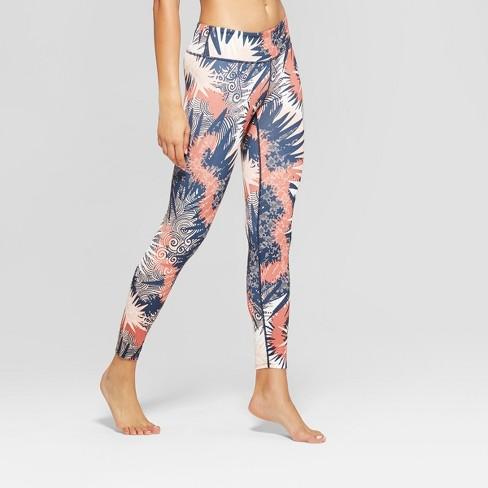 d72384a3be14ab Women's Comfort Printed 7/8 Mid-Rise Leggings - JoyLab™ : Target