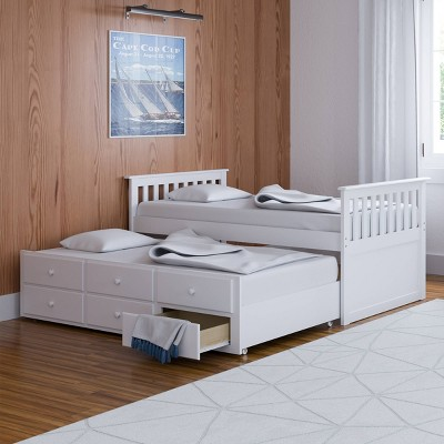 Lagoon Captain's Bed with Trundle - Storkcraft