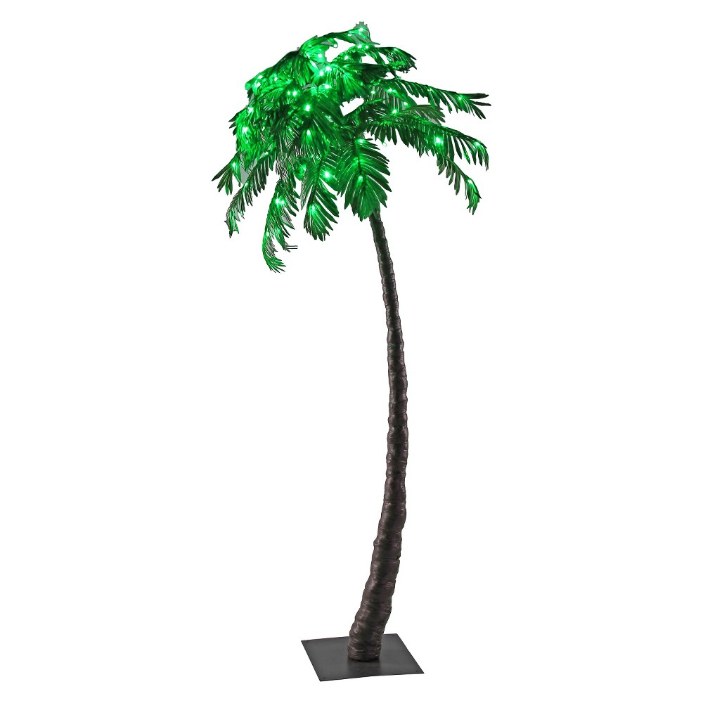 Image of LED Palm Tree - Green - Lightshare
