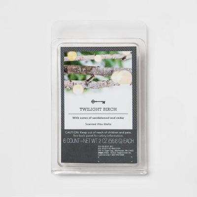 6ct Twilight Birch Scented Wax Melts - Threshold™