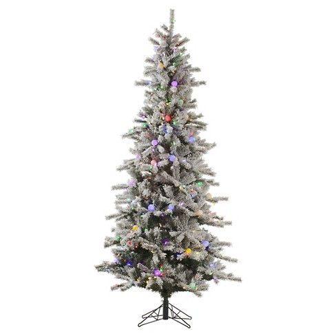 7.5ft Pre-Lit LED Artificial Christmas Tree Full Ogden Fir - White Lights - image 1 of 1