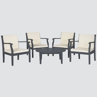 Anaheim 5-Piece Coffee Set - Gray - Safavieh
