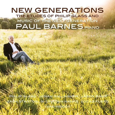 Paul barnes - New generations:Etudes of philip glas (CD) - image 1 of 1