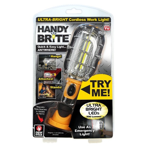 0d2301bc38 As Seen On TV Handy Brite Cordless Work Light : Target