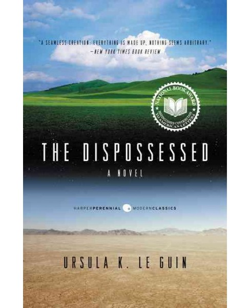Dispossessed -  Reprint (Perennial Classics) by Ursula K. Le Guin (Paperback) - image 1 of 1