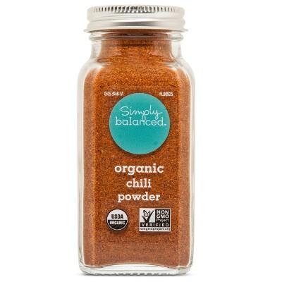 Organic Chili Powder - 3.1oz - Simply Balanced™