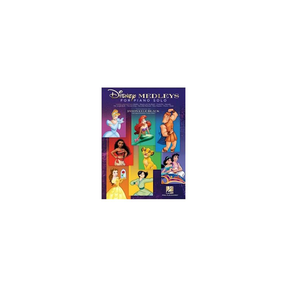 Disney Medleys for Piano Solo - (Paperback)
