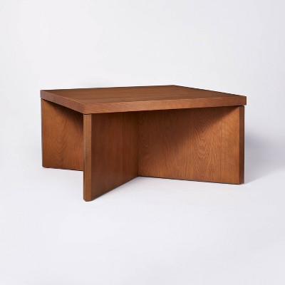River Heights Square Wooden Coffee Table - Threshold™ designed with Studio McGee