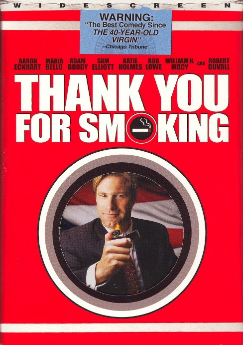 Thank You for Smoking (WS) (dvd_video) - image 1 of 1