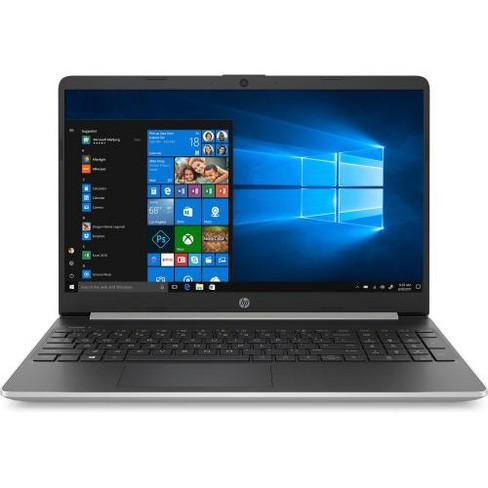 "HP 15 Series 15"" Laptop Intel Core i3 4GB RAM 128GB SSD Natural Silver - 10th Gen i3-1005G1 Dual-core - Touchscreen - TrueVision HD Webcam - image 1 of 4"