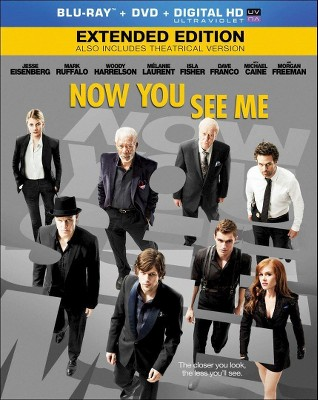 Now You See Me (2 Discs)(Blu-ray/DVD)(Includes Digital Copy)(UltraViolet)