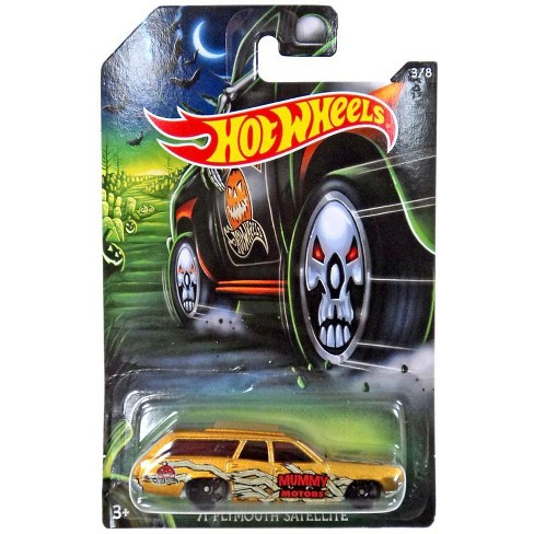 Hot Wheels Happy Halloween! '71 Plymouth Satellite Die-Cast Car #3/8 - image 1 of 1