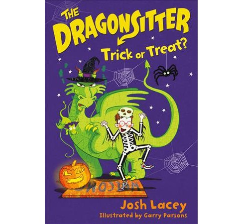 Trick or Treat? -  (Dragonsitter) by Josh Lacey (Paperback) - image 1 of 1