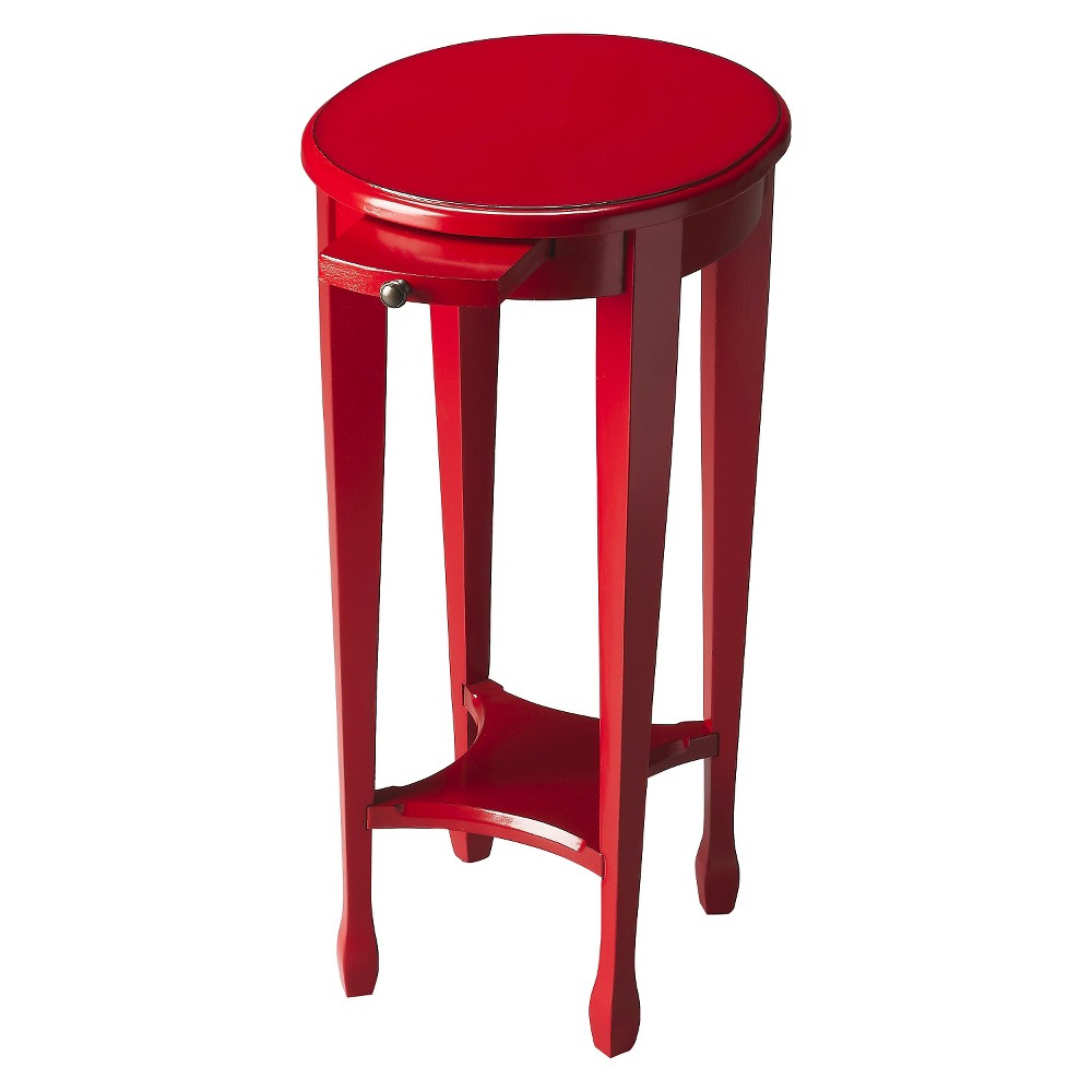 Arielle end Table-Butler Specialty, Red