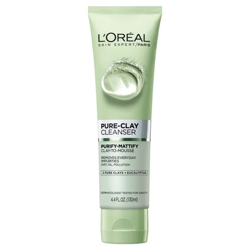 L'Oreal Paris Pure Clay Cleanser - Purify & Mattify - 4.4oz - image 1 of 4