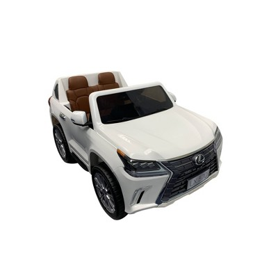 Best Ride on Cars 12V Lexus LX-570 Powered Ride-On - White