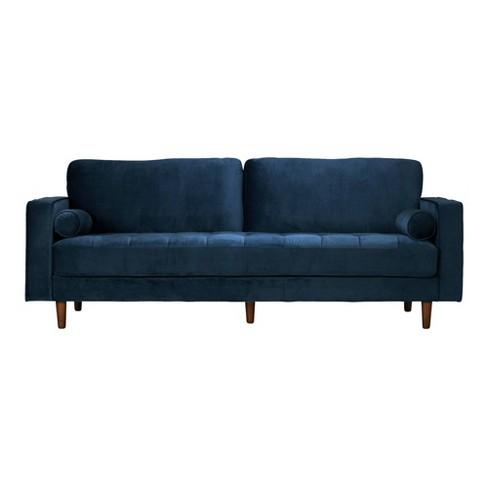 Jacqueline Modern Glam Sofa with Velvet - Poly & Bark - image 1 of 4
