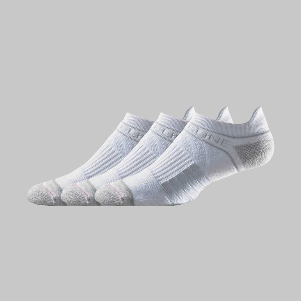 Image of Men's Strideline Low-Rise Athletic Socks 3pk - White One Size