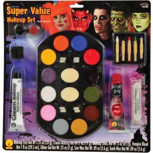 Halloween Cream Makeup | Halloween Super Value Costume Makeup Set Target