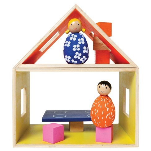 Manhattan Toy MiO Eating Modular Wooden Building Set Playset - image 1 of 4