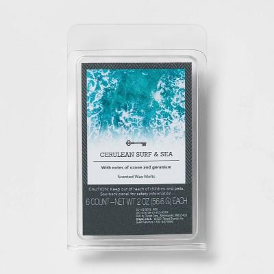 6ct Set Cerulean Surf and Sea Wax Melt - Threshold™
