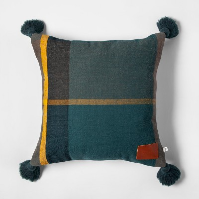 Throw Pillow - Blue - Hearth & Hand™ with Magnolia