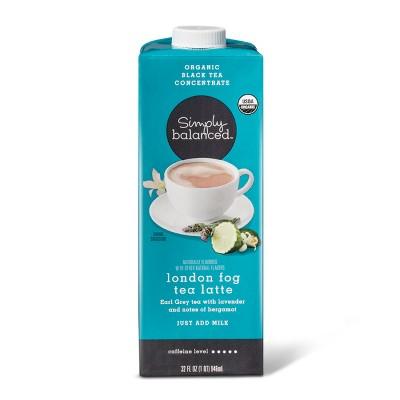 Organic London Fog Tea Latte Concentrate - 32oz - Simply Balanced™